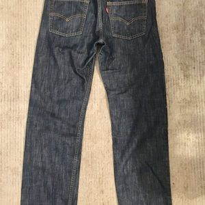 Boy's Levis 514 Dark/Mod Jeans Size 16R (28x28L)
